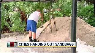 Bay Area sandbag locations open due to severe weather