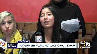 Arizona dreamers call for action on DACA - Video