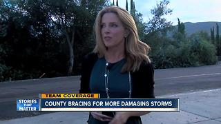 Monsoon Storms Hit San Diego - Video