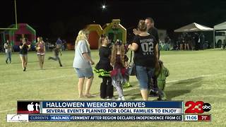 Halloween weekend arrives - Video