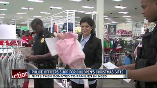 St. Pete police officers take kids in need Christmas shopping