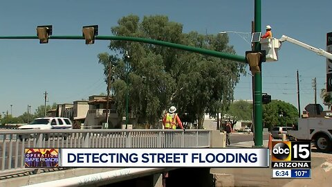 Researchers turn to technology to help detect when storms will flood Valley streets