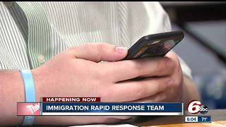 Churches create immigration rapid response team - Video