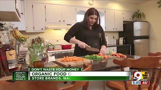 How to save money on organic food - Video