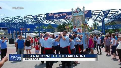 Festa Italiana is a month away! Find out all the details here.