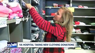 VA Hospital looks for winter donations - Video