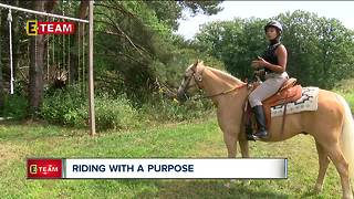 Riding with a purpose