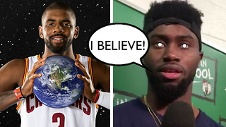 Kyrie Irving Converts New Teammates into a Flat Earth Cult - Video