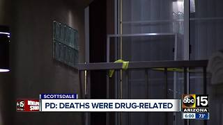 Police have identified the two people found dead in a Scottsdale apartment - Video