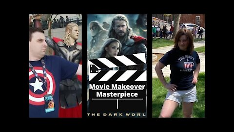'Thor: Dark World' W/ WarriorWoman91 | StudioJake Movie Makeover Masterpiece 02