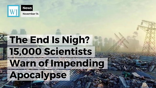The End Is Nigh? 15,000 Scientists Warn of Impending Apocalypse - Video