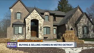 Buying and selling homes in metro Detroit