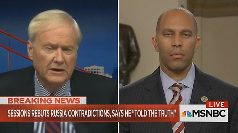 Chris Matthews Goes There, Asks Democrat Who Questioned Attorney General Most Head-Turning Question