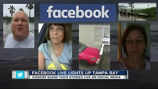 Facebook Live lights up Tampa Bay - Video