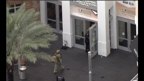 Town Center at Boca Raton mall chaos caused by two popped balloons, police say.