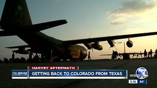 Rescue crews getting back to Colorado from Texas - Video