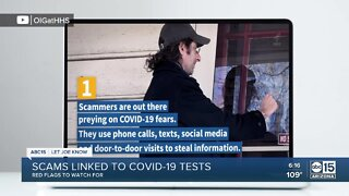 Looking for a COVID testing site? Watch out for scammers