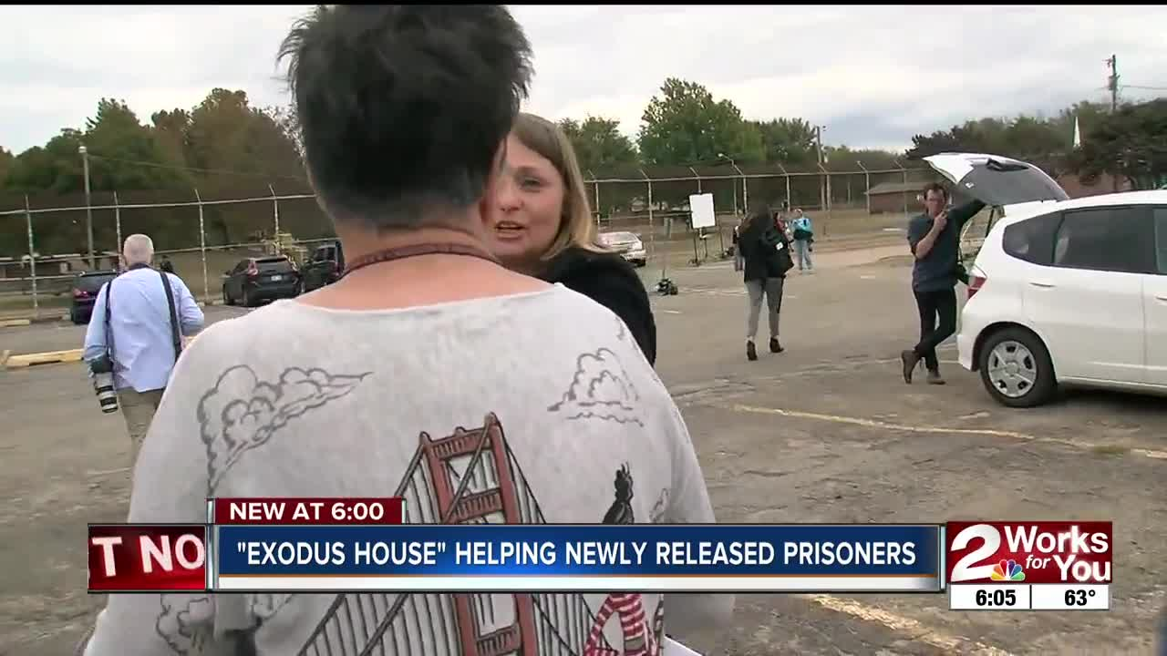 Exodus House helping newly released prisoners