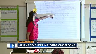 Arming teachers in Florida classrooms - Video