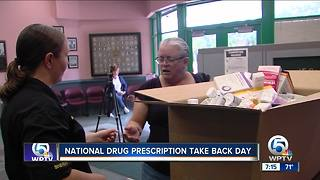National drug prescription take back day held on Saturday - Video