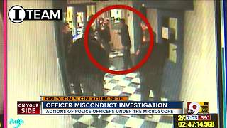 Officer misconduct investigation - Video