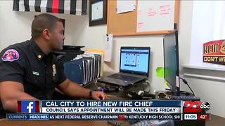 California City Council moves forward with decision to terminate current fire chief - Video