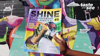 Shine St. Pete Mural Art Festival | Taste and See Tampa Bay
