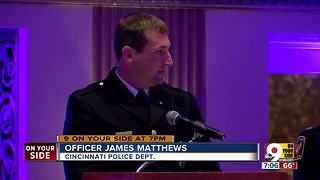 Rotary Club honors four Cincinnati officers - Video