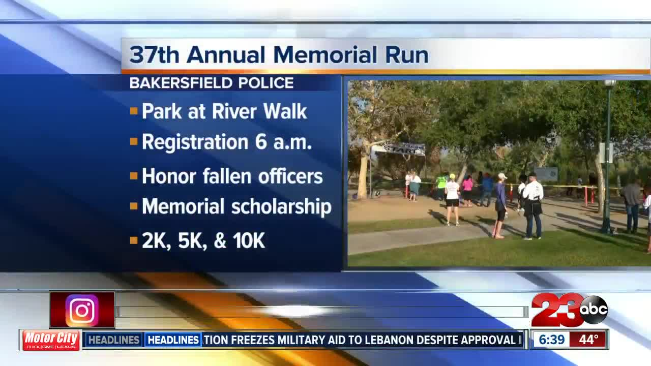 Bakersfield Police honor fallen officers with 37th Memorial Run