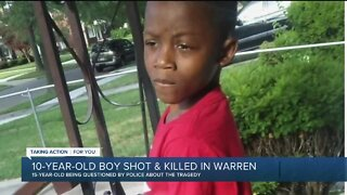 15-year-old in custody after deadly shooting of 10-year-old at Warren apartment