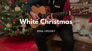 (Bing Crosby) White Christmas - Acoustic Cover - Two Hands