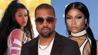 Kanye West Steps in to End Cardi B and Nicki Minaj Feud - Video