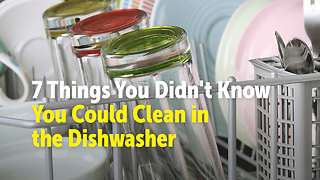 7 Things You Didn't Know You Could Clean in the Dishwasher - Video