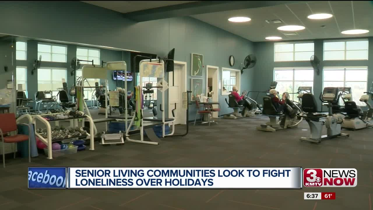 Senior living communities look to fight loneliness over the holidays