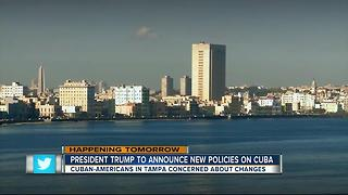 Cubans await possible roll back of diplomatic relations under new Trump policy - Video