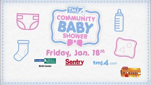 Sentry and the TODAY'S TMJ4 Community Baby Shower
