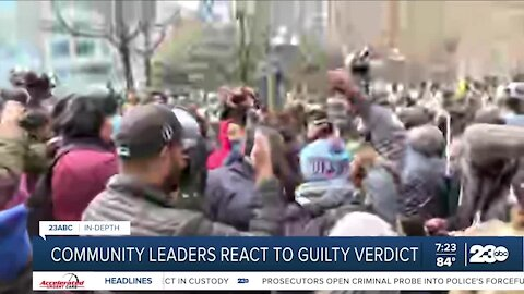 Patrick Jackson, president of the NAACP discusses guilty Chauvin verdict