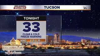 Chief Meteorologist Erin Christiansen's KGUN 9 Forecast Thursday, December 7, 2017 - Video