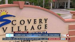 Hurricane Irma Raises Concerns in Assisted Living Facilities - Video