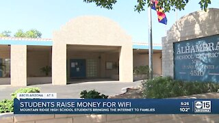 Valley teens raise money to help other students get internet access