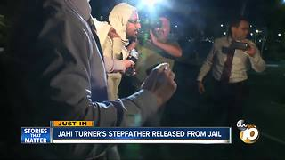 Jahi Turner's stepfather released from jail