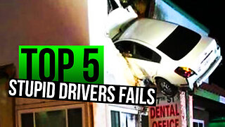 Top 5 Ultimate Stupid Drivers Fails 2019