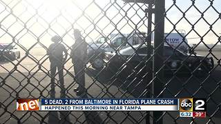 Baltimore couple killed in Florida plane crash - Video