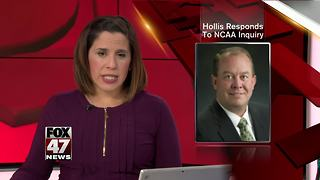 MSU AD Mark Hollis responds to NCAA inquiry - Video