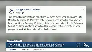 Two teens involved in deadly crash