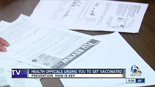 Health officials urging you to get vaccinated for the flu