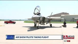 Offutt and Bellevue Ready for Air Show - Video