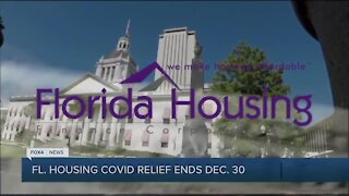 Covid house relief funding ends December 30th