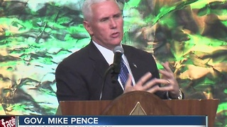 Governor Pence's scouting luncheon