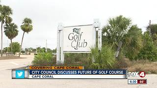 Cape Coral Council agrees to purchase historic Golf Club - Video